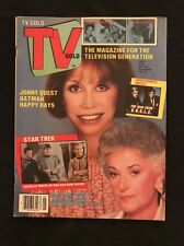 1986 TV GOLD Magazine Star Trek Batman The Man From Uncle Mancave