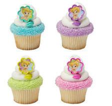 Tinker Bell Fairies Tinkerbell cupcake rings (24) favor cake topper 2 doz