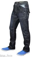 Men New Branded ENZO Designer Regular Fit Straight Leg Denim Jeans Upto 48 Waist