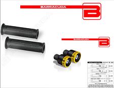BARRACUDA MANOPOLE BASIC + CONTRAPPESI B-LUX ORO UNIVERSALI per TUTTE le MOTO