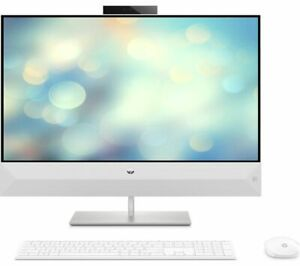 """HP Pavilion 27-xa0035 All-in-One PC Core i5-9400T 8GB 2TB HDD+256GB SSD 27"""" FHD"""