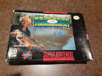 Jimmy Houston's Bass Tournament U.S.A. (SNES) Super Nintendo.. Box and Game ONLY