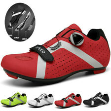 Self-locking MTB Cycling Shoes Mens Road Bicycle Shoes Athletic Racing Sneakers