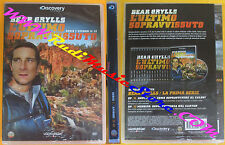 DVD film BEAR GRYLLS L'ULTIMO SOPRAVVISSUTO Serie 1 episodi 11-12 no vhs (D8)