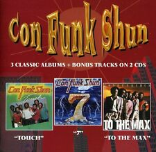 Con Funk Shun - Touch / Seven / to the Max [New CD] UK - Import