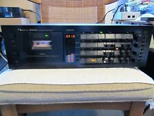 NAKAMICHI BRAND. DRAGON. vintage CASSETTE DECK. PARTS OR REPAIR. USED. DOLBY.