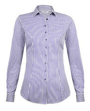WOMENS TM LEWIN BENGAL STRIPED SHIRT BLOUSE SIZE 8 BNWT RRP £29.95