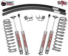 "Rough Country 3"" Lift Kit w/N2.0 Shocks, 1984-2001 Jeep XJ Cherokee 670N2"
