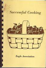 *SALEM MA 1987 EAGLES COOK BOOK *SUCCESSFUL COOKING *MASSACHUSETTS RECIPES *RARE