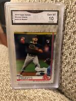 2019 Topps Update Michael Chavis Rookie Graded 10 Boston Red Sox