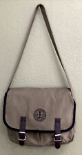 """Seal Of The """"SIERRA CLUB"""" Messenger Bag, Crossbody Canvas Army Green Never Used"""