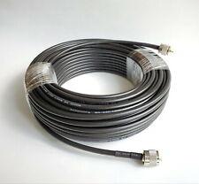 100' feet Coax Cable Assembly Jumper LMR240 RG8X BR240 PL259 Connectors HAM CB