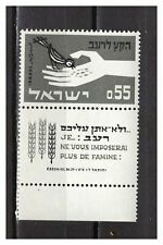s30077) ISRAEL MNH** 1963 Freedom from hunger 1v