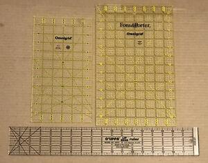 Dritz R641 Omnigrid Ruler Set, Squares