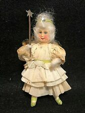 German Fairy God-Mother Cotton Christmas Ornament