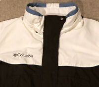 Columbia Womens Size Large Winter/ski jacket Removable Hood Brown White