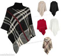 Vêtements ponchos taille unique pour femme