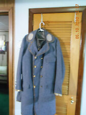 New listing Confederate General's frock coat and vest in lined wool in a large 46 size.