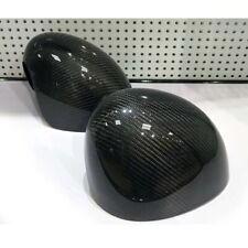 Real Carbon Fiber Side Mirror Cover Caps Fit For MINI Cooper S JCW F55 F56 F57