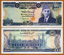 Pakistan, 1000 Rupees, ND (1986-), p-43, W/H, UNC