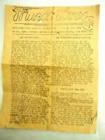 WWII New Georgia Islands Daily Newsletter 975th SIG Aug.30,1943