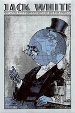 MINT & SIGNED Jack White 2012 Los Angeles Rob Jones Poster 79/373