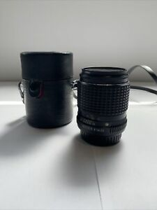 SMC Pentax-M 1:3.5 135mm Lens with Leather Case