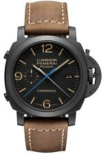PAM00580 LUMINOR 1950 3 DAYS CHRONO FLYBACK AUTOMATIC CERAMICA WATCH - 44MM