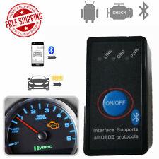 ELM327 Bluetooth OBD2 Code Reader Car Engine Diagnostic Tool Automotive Scanner