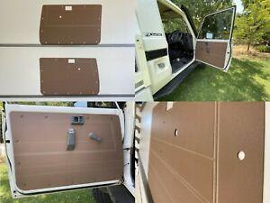 Toyota LandCruiser 75 78 79 Series Manual ABS Panels Rugged & Waterproof - Brown