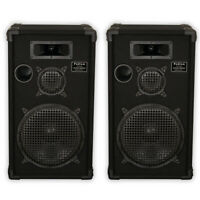 "Podium by Goldwood E1200C Passive Speakers 12"" Pair 3 Way PA DJ Karaoke Home"