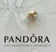 PANDORA | GENUINE 14ct Gold Green Sapphire Amethyst 'True Love' Dangle 750354GAM