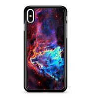 Luminous Cyber Space Intergalactic Cosmic Molecular Clouds 2D Phone Case Cover