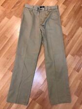 Dockers Signature Khaki Size 30/32 Beige Flat Front Straight Fit Dress Pants