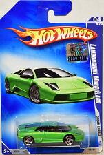 HOT WHEELS 2009 DREAM GARAGE LAMBORGHINI MURCIELAGO #04/10 GREEN FACTORY SEALED