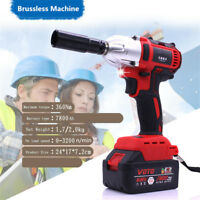 Square Drive Milwaukee Fuel Impact Wrench Cordless Brushless Electric 360n.m 68V