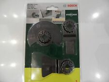Set d'accessoires pour outils multifonctions, 3 pcs Bosch 2607017324