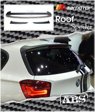 M Tech Style Matte Trunk Rear Roof Spoiler for BMW F20 F21 1-Series Hatchback