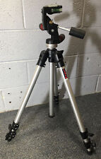Manfrotto Bogen 3011 pro tripod with 3047 3-way pan head