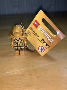 Ninja with Armor Minifigure KEYCHAIN COMPATIBLE WITH LEGO NEW