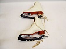 Reidell Women'S Ice Skates - Leather - John Wilson Excel Blades Great Condition