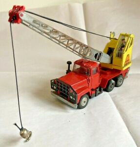 Corgi Major Toys Mack-Priestman Crane Truck