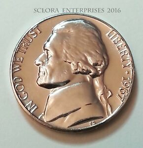 1967 P Jefferson Nickel  *SPECIAL MINT SET* (SMS) UNCIRCULATED **FREE SHIPPING**