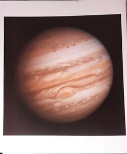 NASA Official Color Photograph Of Jupiter On Kodak Paper