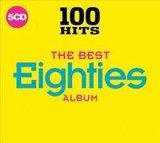 VARIOUS ARTISTS - 100 HITS: THE BEST EIGHTIES ALBUM NEW CD