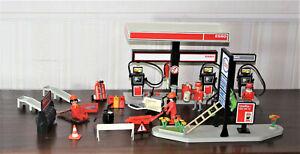 Playmobil Spielset aus 3434 Esso Tankstelle