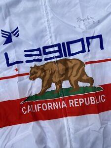 L39ION Cycling Jersey Wind Rain Vest Legion Los Angeles Large Justin Williams