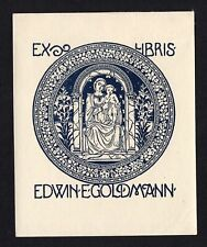20)Nr.069- EXLIBRIS-  Felix Maltz, Madonna
