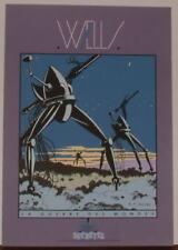 Jacobs Guerre des Mondes serigraphie Archives Secretes 1988