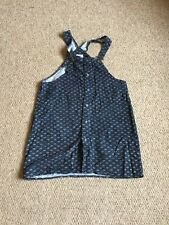 Topshop Vintage Loving Youth Pinafore Dress Needlecord 10